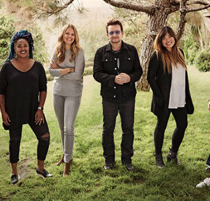 Bono is Glamour Woman of the Year 2016 - charlie!