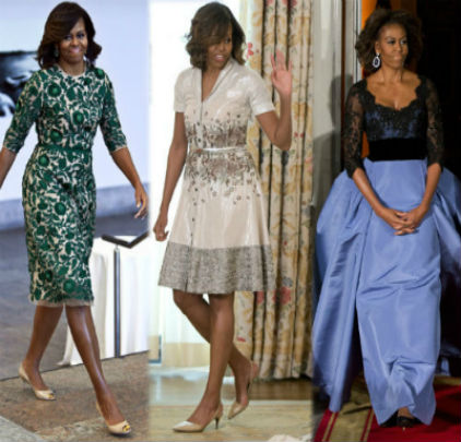 Michelle Obama Dresses: Best Looks Of The Former First Lady - charlie!