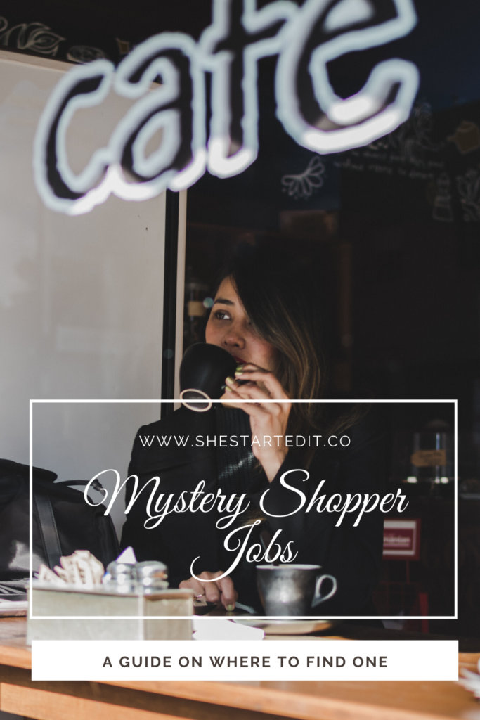 where to find mystery shoppers job