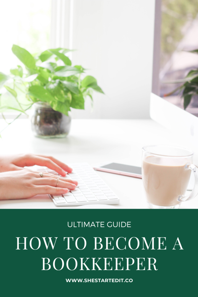 how to become a bookkeeper guide