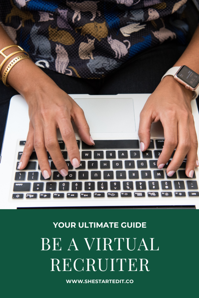 how to become a virtual recruiter