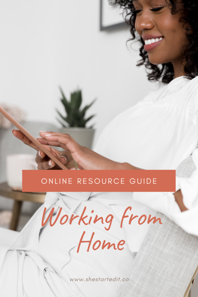 start here working from home online resources