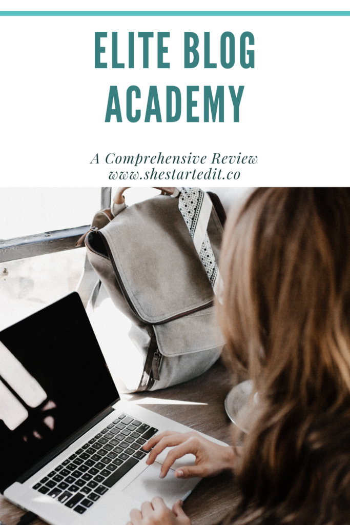 Elite Blog Academy Comprehensive Review