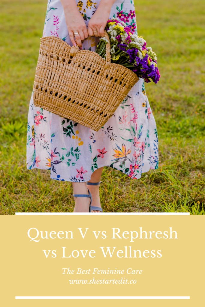 Queen V vs Rephresh vs Love Wellness review