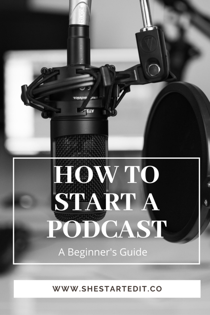 all about starting a podcast