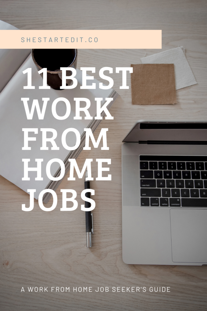best work from home jobs for new remote job seekers