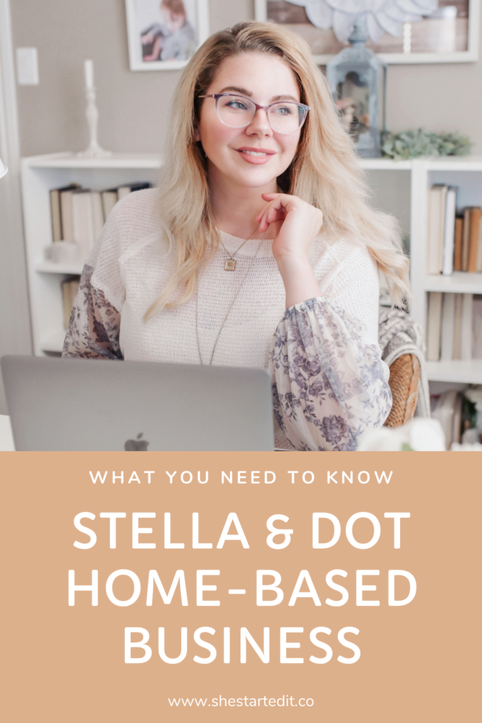 starting your own Stella & Dot home-based business