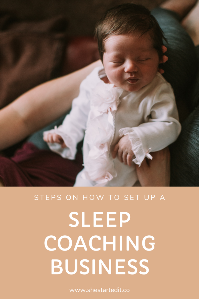 setting up a sleep coaching business from home