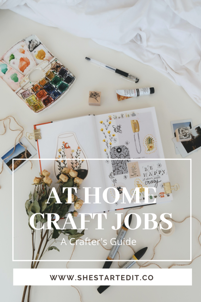 craft jobs you can do at home