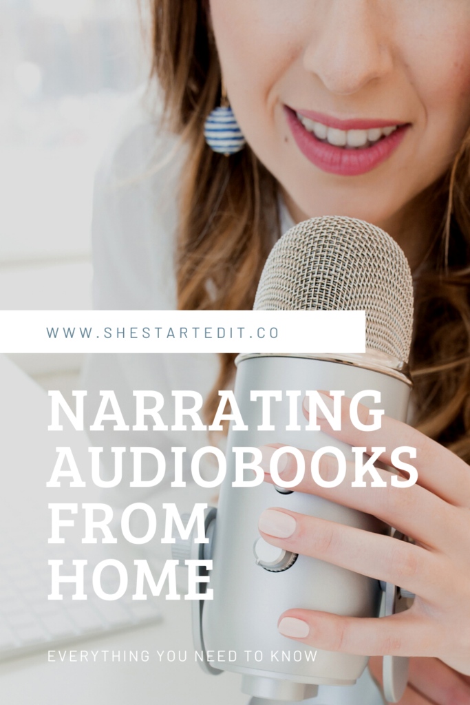how to earn from narrating audiobooks