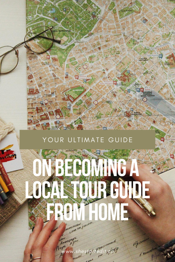 how to be a local tour guide from home