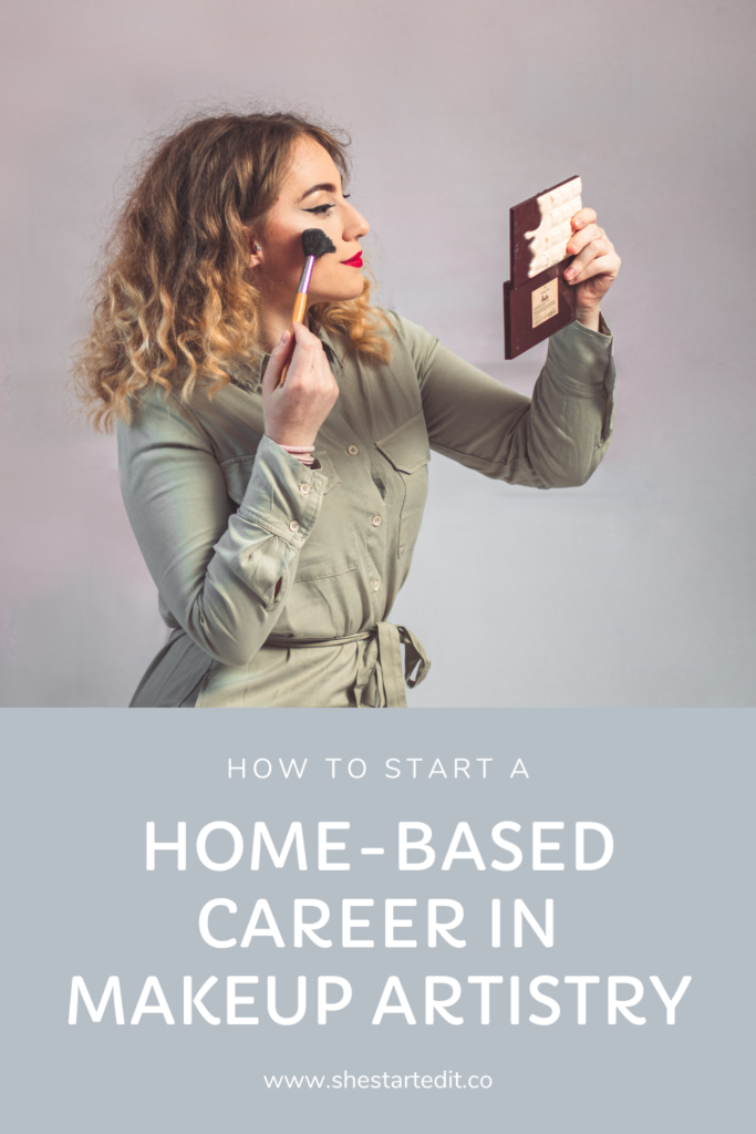how to start a career makeup artistry