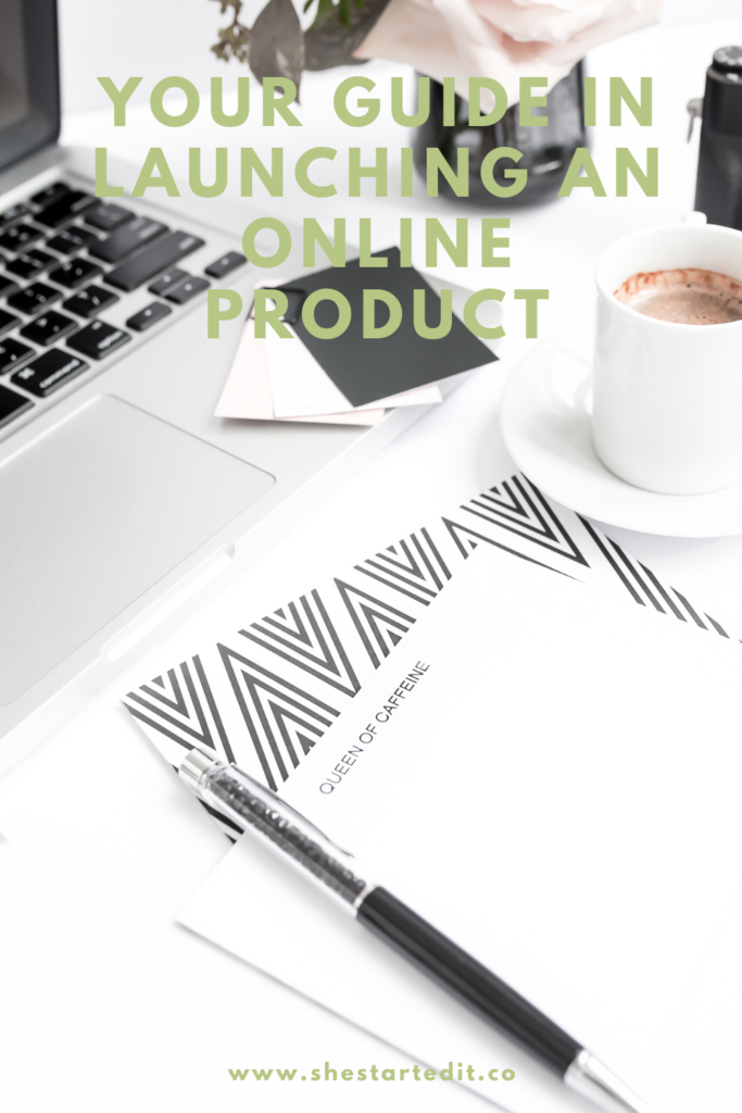 your guide on launching online product