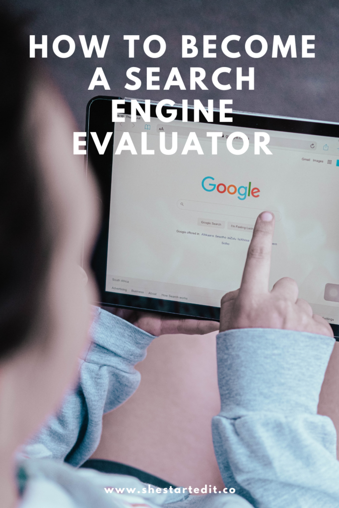how to be a search engine evaluator from home