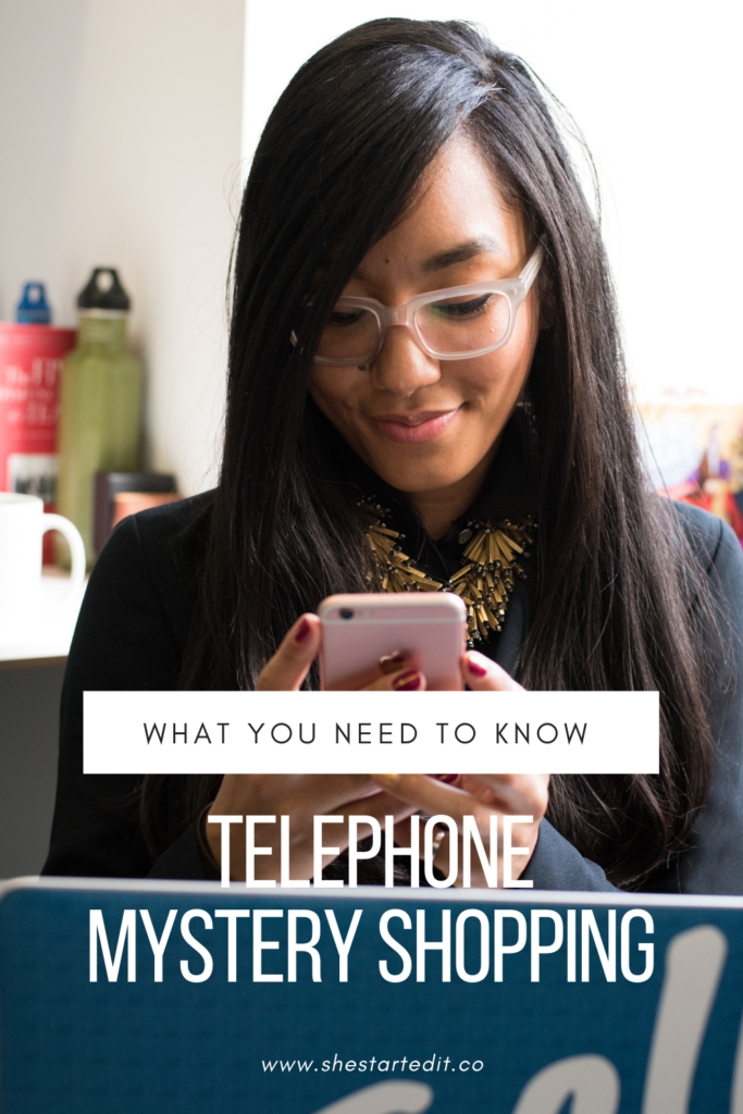 everything you need to know about telephone mystery shopping job