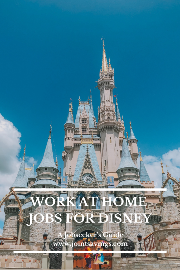 work at home Disney jobs for every Disney fan