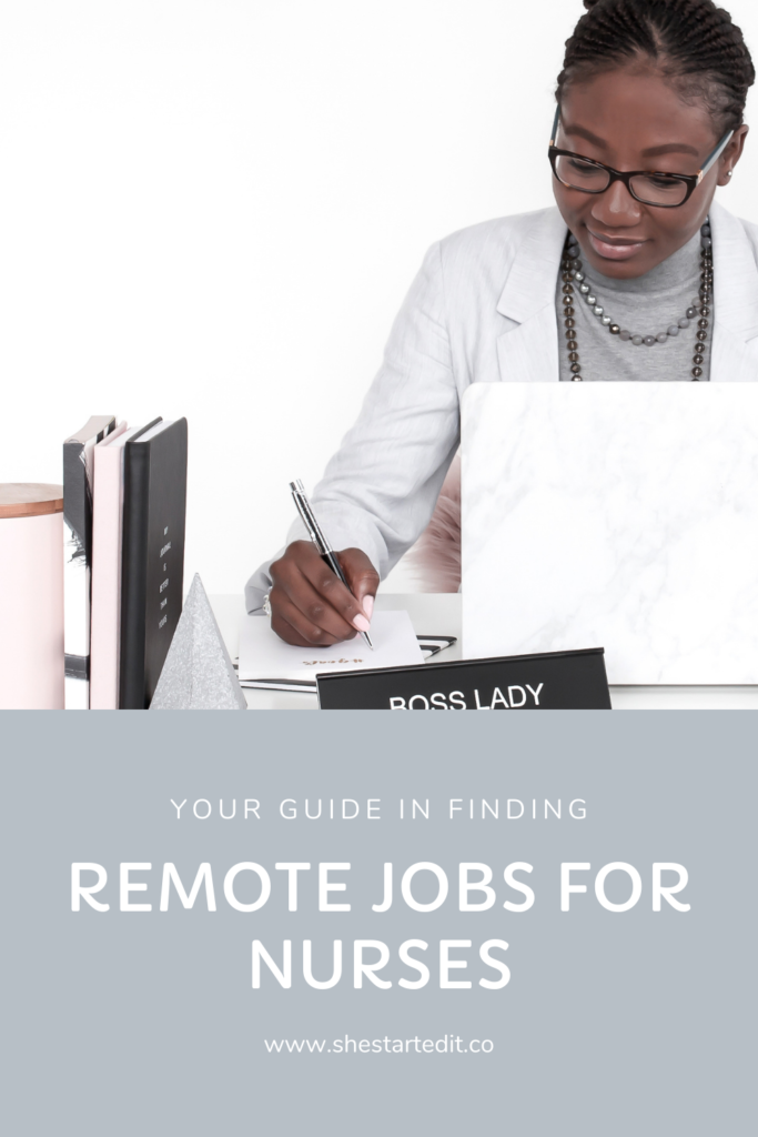 your guide in finding remote jobs nurses