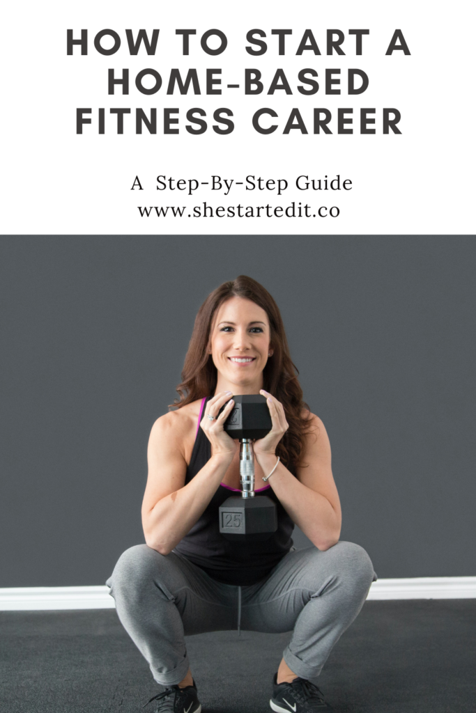 how to start a home-based fitness career