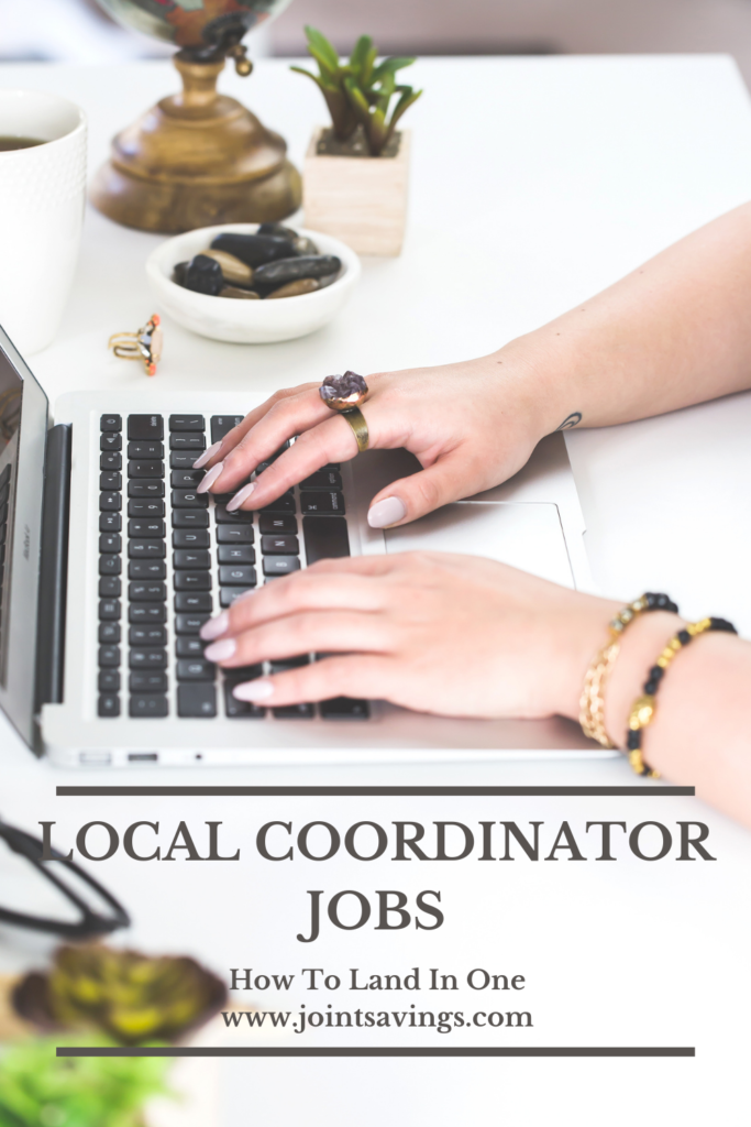 where to find local coordinator jobs
