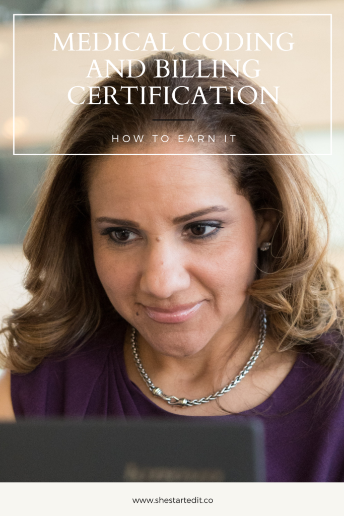 how to earn a medical coding and billing certification