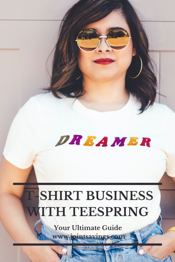 how to start a t-shirt business with Teespring