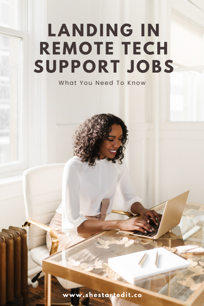 How To Land Remote Tech Support Jobs And Where To Find Them